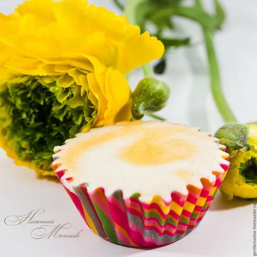 """Масла и смеси ручной работы. Ярмарка Мастеров - ручная работа. Купить """"Лимонная меренга"""" пралине для ванны. Handmade. Лимонный, разноцветный"""