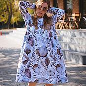 Платья ручной работы. Ярмарка Мастеров - ручная работа Платье для кормящих и беременных, Хлопок. Handmade.