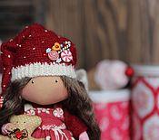 """Куклы и игрушки ручной работы. Ярмарка Мастеров - ручная работа Текстильная кукла""""Конфетная мушка"""". Handmade."""