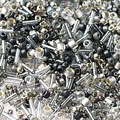 Материалы для творчества handmade. Livemaster - original item 10g Toho MIX 3211 grey gold Japanese beads TOHO Tenin. Handmade.