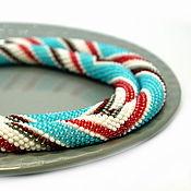 Украшения handmade. Livemaster - original item Harness long beaded