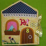 Куклы и игрушки handmade. Livemaster - original item dollhouse. Educational soft book. Handmade.