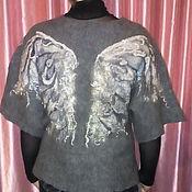 """Одежда ручной работы. Ярмарка Мастеров - ручная работа Жилет валяный """"Крылья ангела"""". Handmade."""