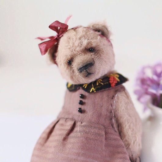 Мишки Тедди ручной работы. Ярмарка Мастеров - ручная работа. Купить Авторский мишка Тата. Handmade. Мишка, мишка в подарок