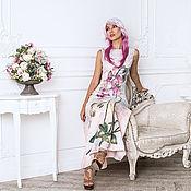 """Одежда ручной работы. Ярмарка Мастеров - ручная работа Валяное платье """"Орхидея"""". Handmade."""
