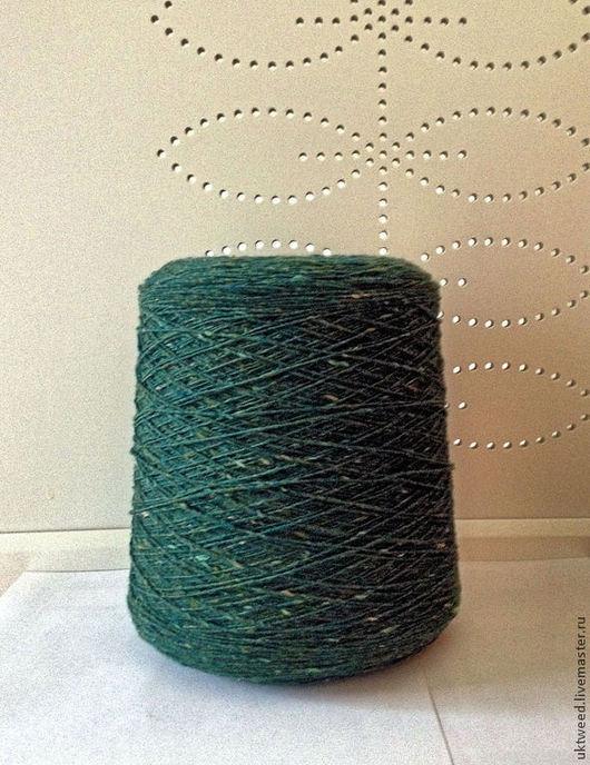 Вязание ручной работы. Ярмарка Мастеров - ручная работа. Купить Soft Donegal Tweed -100% меринос. Handmade. Болотный