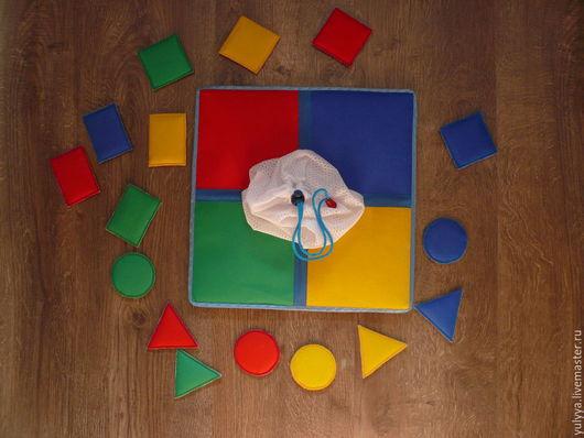 Развивающие игрушки ручной работы. Ярмарка Мастеров - ручная работа. Купить УГАДАЙ!!!. Handmade. Разноцветный, бязь