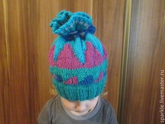Шапки и шарфы ручной работы. Ярмарка Мастеров - ручная работа. Купить Шапка детская. Handmade. Орнамент, шапка детская