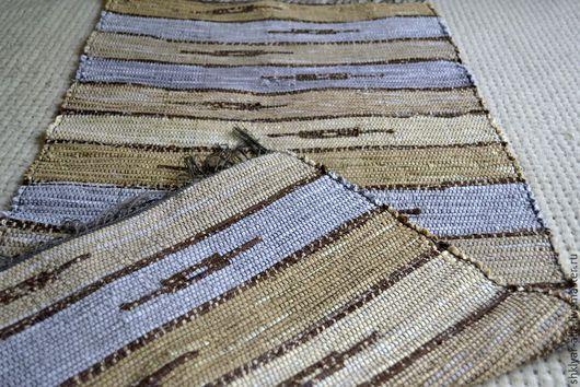 Текстиль, ковры ручной работы. Ярмарка Мастеров - ручная работа. Купить Половик ручного ткачества (№ 72). Handmade. Бежевый