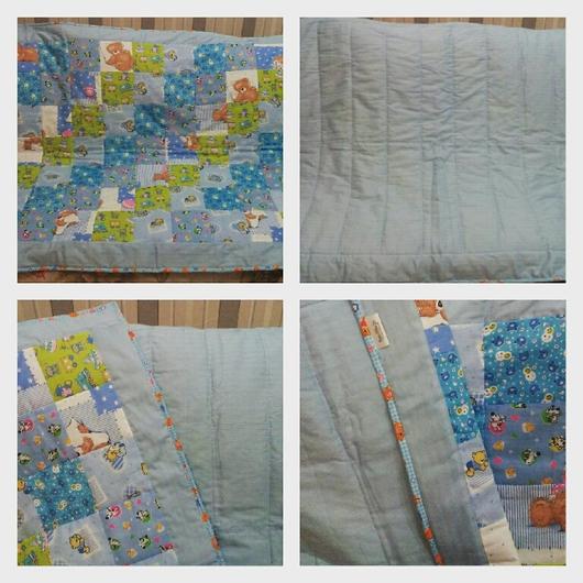Пледы и одеяла ручной работы. Ярмарка Мастеров - ручная работа. Купить Детское одеяло. Handmade. Детское одеяло, на рождение ребенка