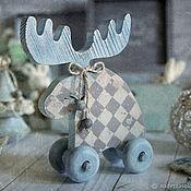 Подарки к праздникам handmade. Livemaster - original item Moosie Wonderland of Skandi. Decoupage. Handmade.