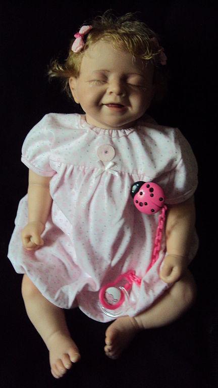 Куклы-младенцы и reborn ручной работы. Ярмарка Мастеров - ручная работа. Купить Кукла Реборн Милена. Handmade. Бледно-розовый