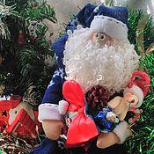 Куклы и игрушки ручной работы. Ярмарка Мастеров - ручная работа Дед Мороз-тильда. Handmade.