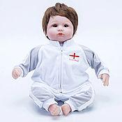 Куклы Reborn ручной работы. Ярмарка Мастеров - ручная работа Кукла Reborn, футболист Англия (A). Handmade.