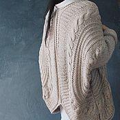 Одежда ручной работы. Ярмарка Мастеров - ручная работа Кардиган-кокон. Handmade.