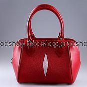 Сумки и аксессуары handmade. Livemaster - original item Bag leather Stingray IMC0542R. Handmade.