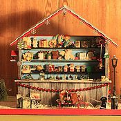 """Куклы и игрушки ручной работы. Ярмарка Мастеров - ручная работа Румбокс """"Лавка Рождества"""".. Handmade."""