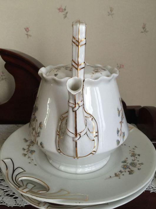 Винтажная посуда. Ярмарка Мастеров - ручная работа. Купить Чайник , 2 блюда,  Limoges. TRESSEMANN, свободно. Handmade. Белый, редкость