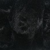 Материалы для творчества ручной работы. Ярмарка Мастеров - ручная работа Волокна вискозы. 25 гр. Черный. Волокна для декора.. Handmade.