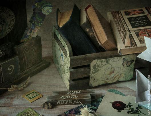 """Комплекты аксессуаров ручной работы. Ярмарка Мастеров - ручная работа. Купить Ящик для хранения """" Memories and dreams"""". Handmade."""