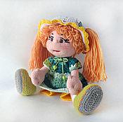 Куклы и игрушки ручной работы. Ярмарка Мастеров - ручная работа кукла Полина вязаная. Handmade.
