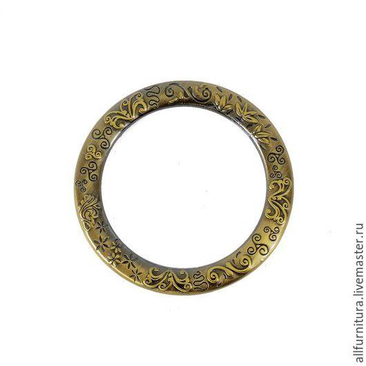 Шитье ручной работы. Ярмарка Мастеров - ручная работа. Купить Кольцо литое О 165 (38мм) антик. Handmade.