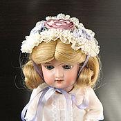 Куклы и игрушки ручной работы. Ярмарка Мастеров - ручная работа Шляпка для антикварной или БЖД куклы. Handmade.