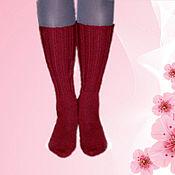 Аксессуары handmade. Livemaster - original item Women`s knit socks. Socks hand knitted. ( NZDT). Handmade.