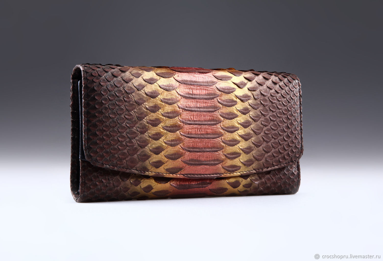 Python leather wallet IMP0048A28, Wallets, Moscow,  Фото №1