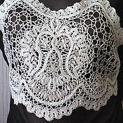 Одежда handmade. Livemaster - original item Bustier top CAPPUCCINO. Handmade.
