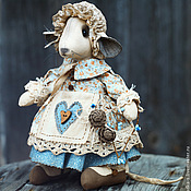 Куклы и игрушки ручной работы. Ярмарка Мастеров - ручная работа Мышка.. Handmade.