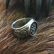 Украшения handmade. Livemaster - original item ring with double-headed eagle (coat of arms ). Handmade.