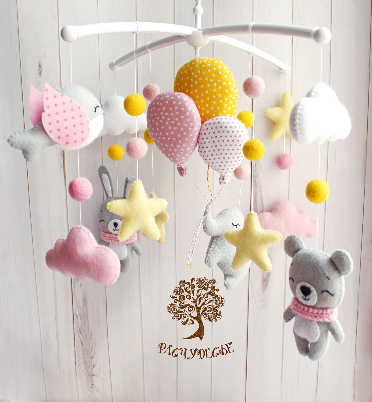 Изготовление игрушек своими руками для новорожденных младенцев