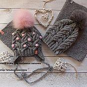 Аксессуары ручной работы. Ярмарка Мастеров - ручная работа Фемели лук для мамы и доченьки. Handmade.