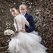 Свадебный салон ручной работы. Ярмарка Мастеров - ручная работа свадебное платье Наргис. Handmade.
