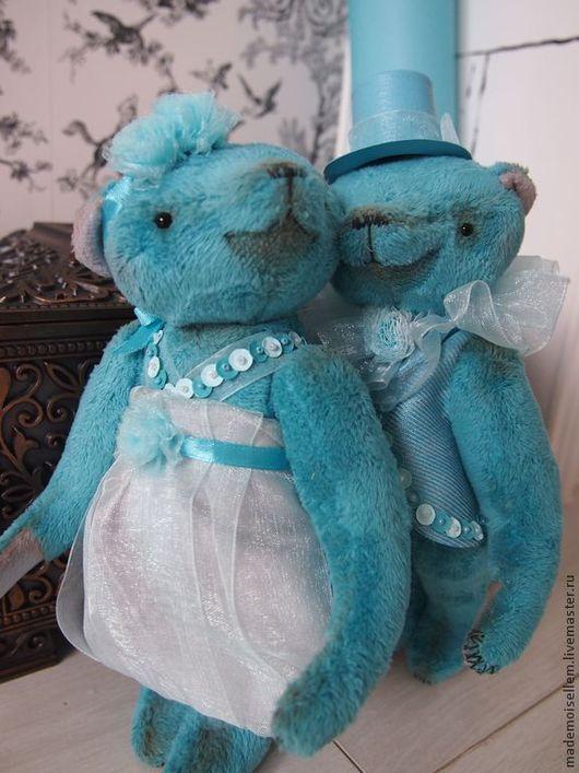 Мишки Тедди ручной работы. Ярмарка Мастеров - ручная работа. Купить Мишки тедди Tiffany boy and girl. Handmade.
