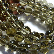 Beads1 handmade. Livemaster - original item The Topaz, Smoky Quartz smooth ball 12 mm. Handmade.