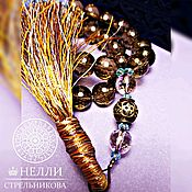 Фен-шуй и эзотерика handmade. Livemaster - original item Beads of Topaz
