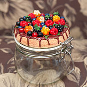Посуда handmade. Livemaster - original item Berry jar. Handmade.