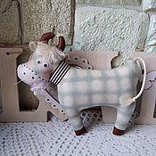 Куклы и игрушки handmade. Livemaster - original item The symbol of 2021 is the bull Fedor. Handmade.