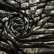 Ткани ручной работы. Ярмарка Мастеров - ручная работа Ликвидация!  Фактурный трикотаж с печатью. Handmade.