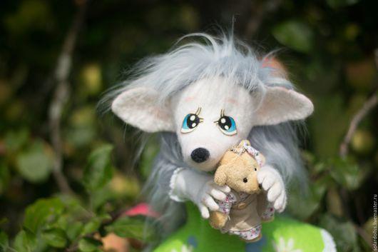 Развивающая перчаточная игрушка Ежоночка Яночка