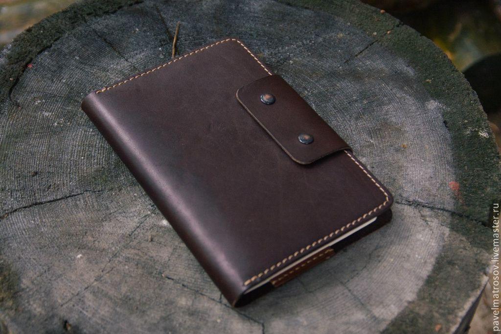 Заказать ежедневник из натуральной кожи