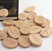 Фен-шуй и эзотерика handmade. Livemaster - original item Slavic runes from wood ash. Handmade.