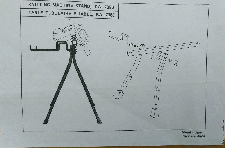 Стол для вязальной машины своими руками чертежи 255