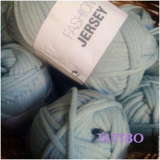 Вязание ручной работы. Ярмарка Мастеров - ручная работа. Купить Толстая хлопковая пряжа Jersey (2 цвета). Handmade.