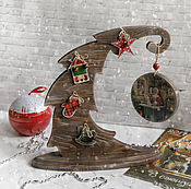 Подарки к праздникам handmade. Livemaster - original item tree in the interior In expectation of a miracle. Decoupage. Handmade.