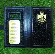Сумки и аксессуары handmade. Livemaster - original item Personal leather phone case. Handmade.