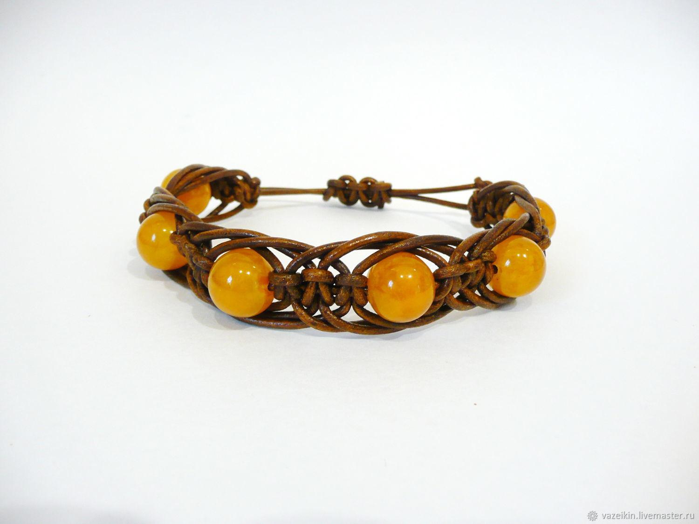 Reserve Shambhala amber bracelet Br-207, Bead bracelet, Svetlogorsk,  Фото №1