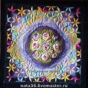 Картины и панно handmade. Livemaster - original item Art quilt